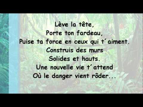 Tarzan - Entre deux mondes - Paroles