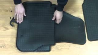 Видео обзор коврики volksvagen Caddi