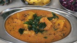 Pineapple Gravy In Tamil | அன்னாசி பழ குழம்பு