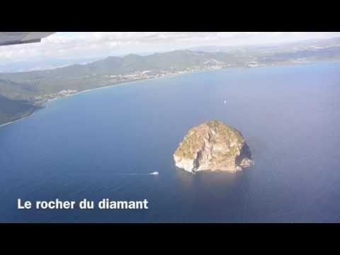 La Martinique vue du ciel