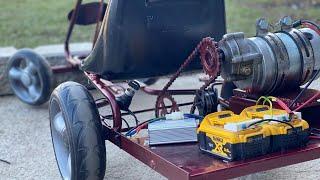How to Make a POWERFUL Electric Gokart at Home