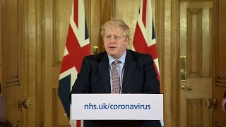 video: Boris Johnson wanted to make his coronavirus plan clearer. But this news conference just added to the confusion