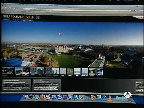 Television News - Antena 3 - Spanien - www.dresden-26-gigapixels