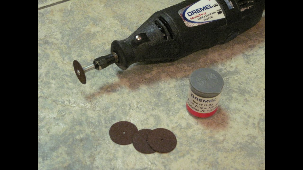 Dremel Heavy Duty Cut Off Wheel 420 Youtube