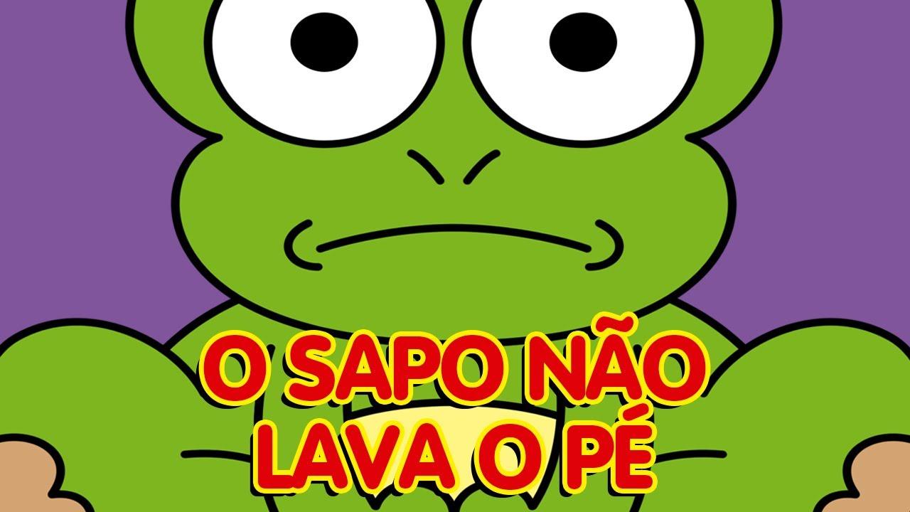 O SAPO NÃO LAVA O PÉ - CRIANÇAS INTELIGENTES - A E I O U -BRASIL