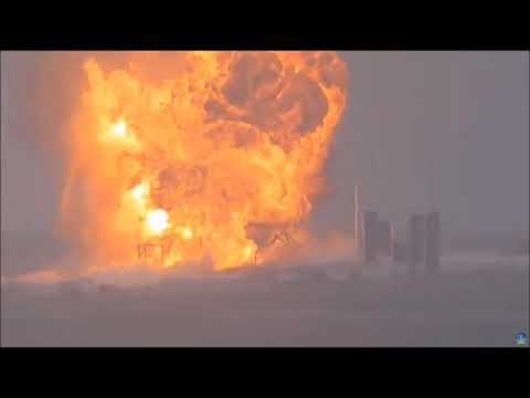 SpaceX Starship SN4 Static Fire Explosion With First Views Of Aftermath