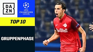 Top 10 Tore dęr Gruppenphase 2020/21   UEFA Champions League   DAZN Highlights