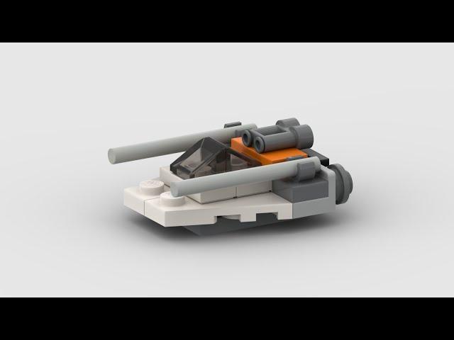 911506 Snowspeeder™ | Stop Motion
