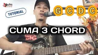 Iwa k - bebas chord | cuma 3 chord | tutorial gitar | mudah