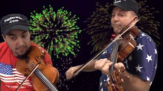 Stars and Stripes Forever - Felix and Fiddlerman Plus Bloopers