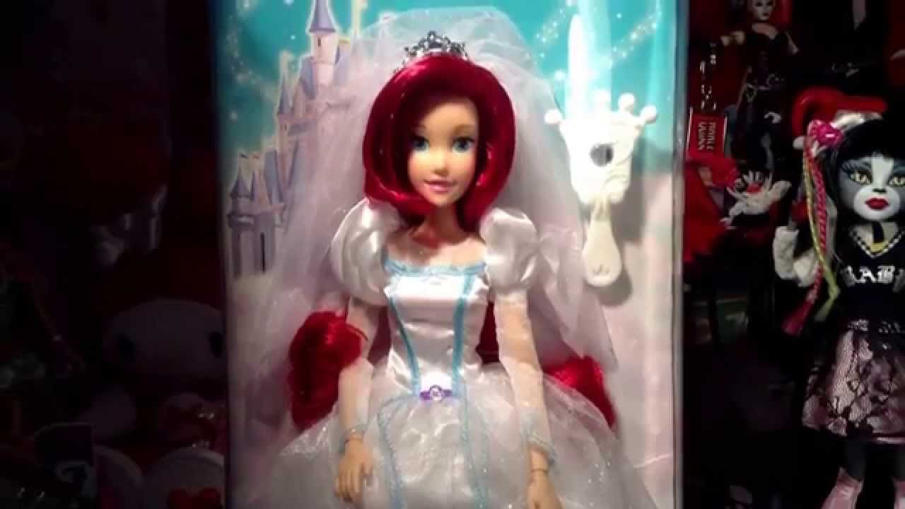 Disney Parks Wedding Ariel Doll Review