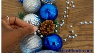 DIY: Quick Tip Christmas Swag for Under $20!
