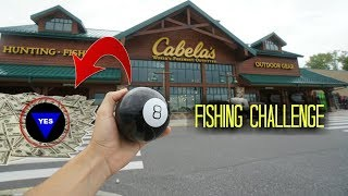 I let a MAGIC 8 BALL choose my FISHING LURES (Surprising!)