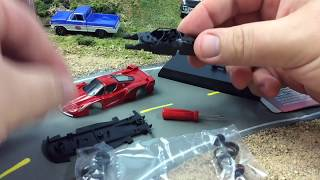 How to Assemble a Kyosho Ferrari