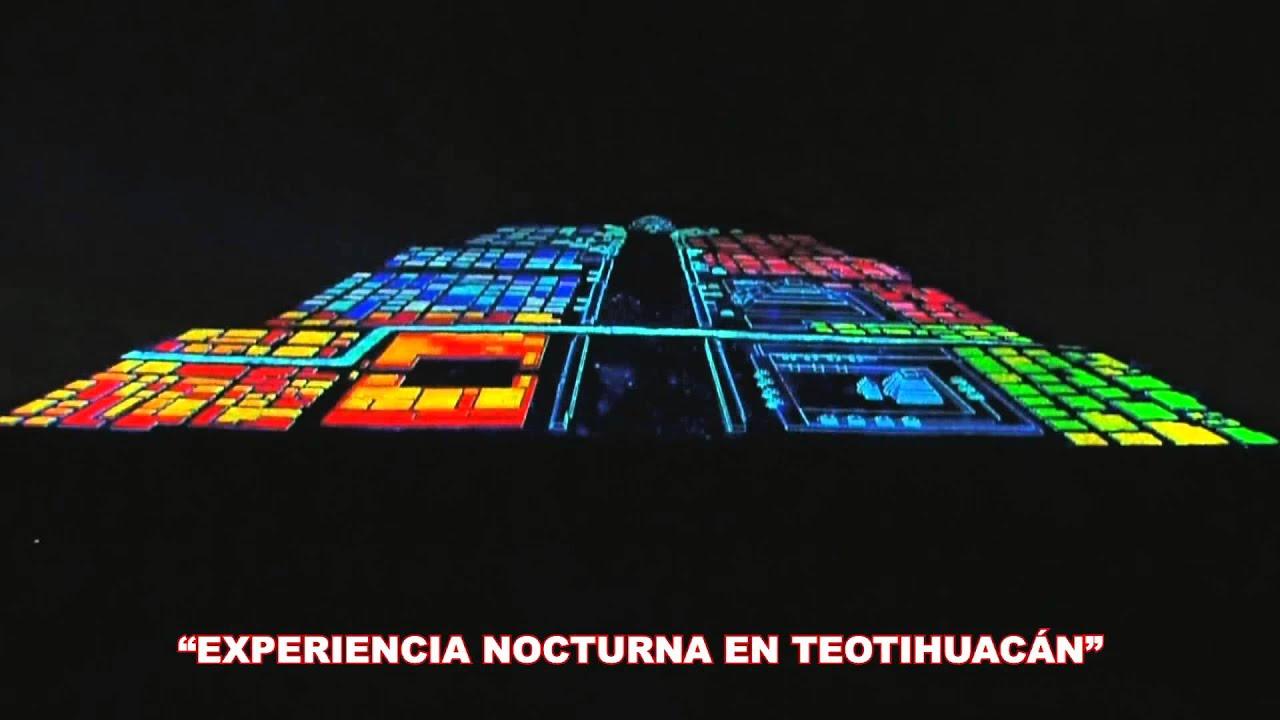 Inici el espect culo experiencia nocturna en teotihuac n Espectaculo de luces teotihuacan 2018