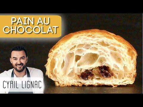 PAINS AU CHOCOLAT/CHOCOLATINE DE CYRIL LIGNAC (pas de débat... 😜)