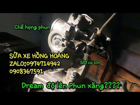 Độ Phun Xăng điện Tử Cho Dream,Wave 100.Phần 5(Co Xăng,mặt Ram, Cảm Biến Nhiệt độ)