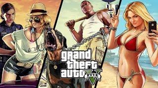 Прохождение Grand Theft Auto V #1
