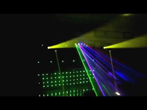 Qatar DJ - Lighting Setup 1 for indoor party