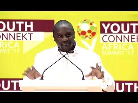 Akon said: We need to Rebrand African at Youth Summit Rwanda 2017