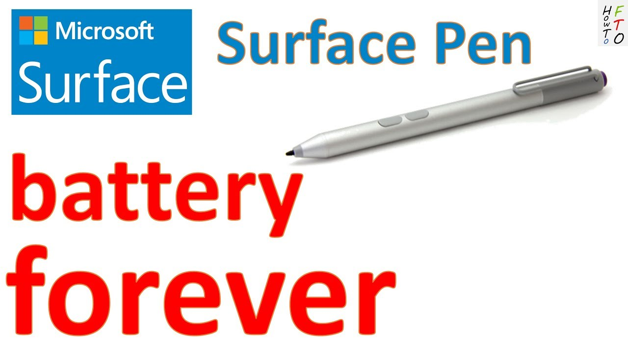 Surface Pen Battery Forever How To Turn Off Your Surface Pen And