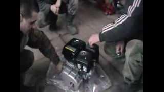 двигатель лифан 170 с центробежным сцеплением.
