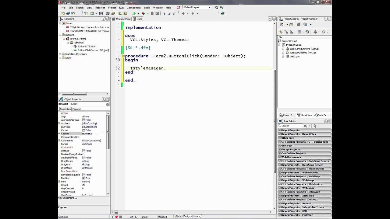 Modernizing your Delphi and C++Builder VCL applications using Styles