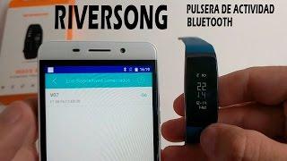 RIVERSONG Pulsera de actividad con bluetooh para app del móvil