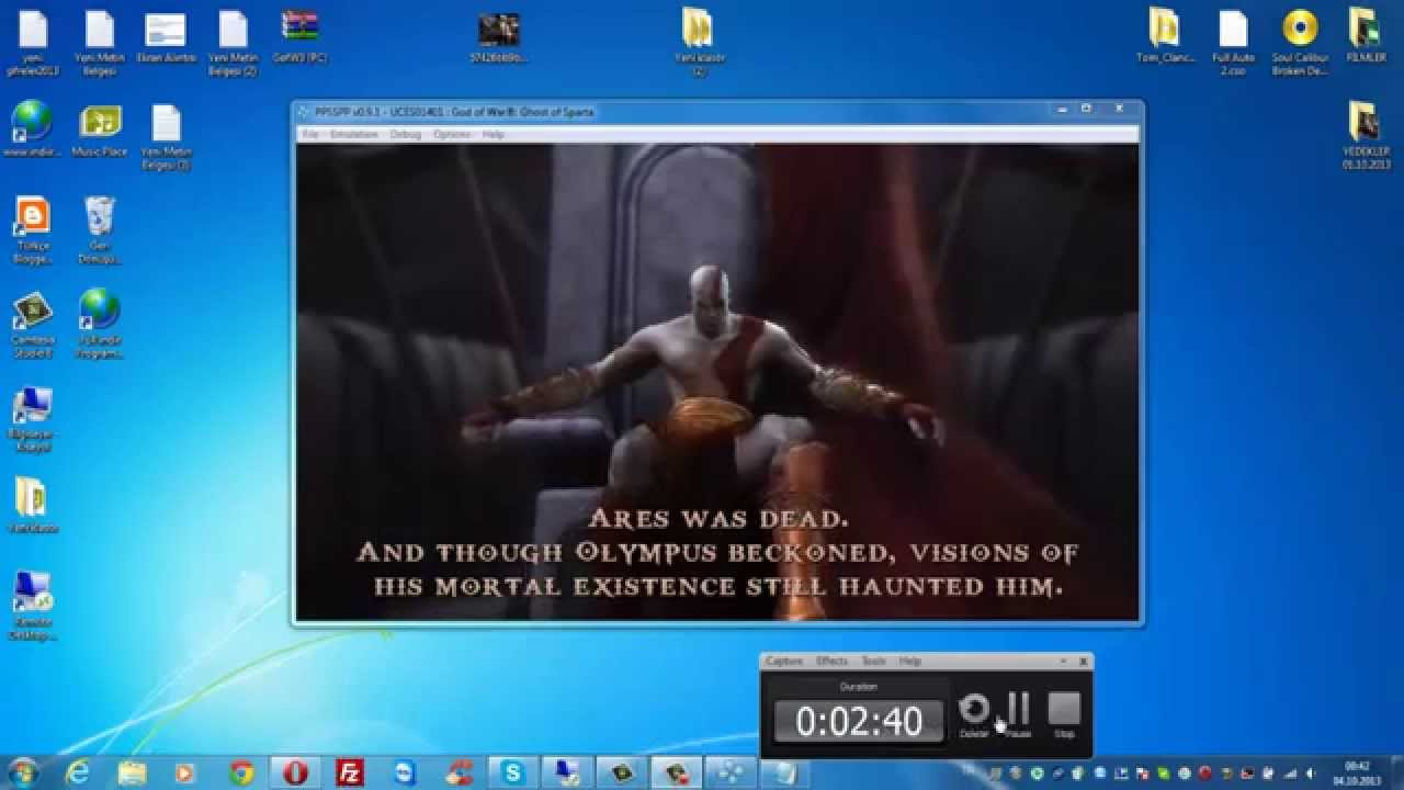 God of war ghost of sparta ppsspp android gameplay | highly.