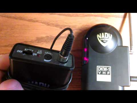 Nady Wireless System For EdTPA Video Recording.