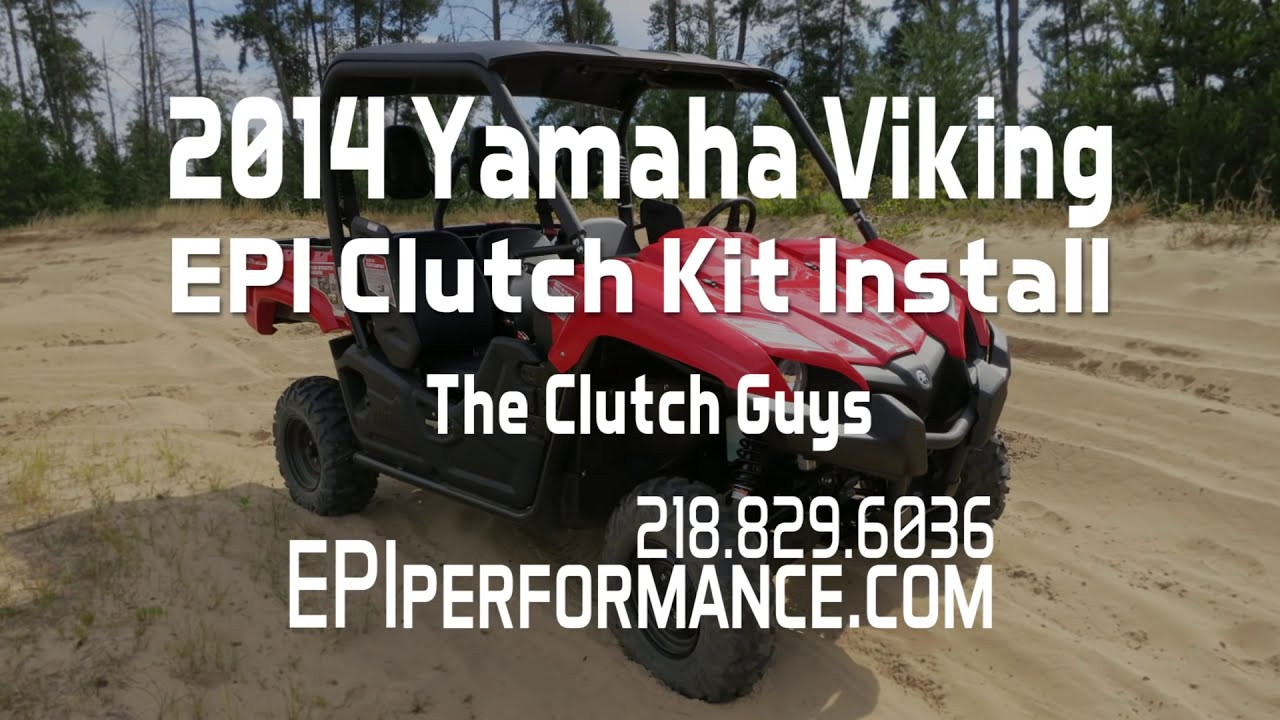 Clutch Kit Install - 2014 Yamaha Viking - Epi  Epiperformance 25:32 HD