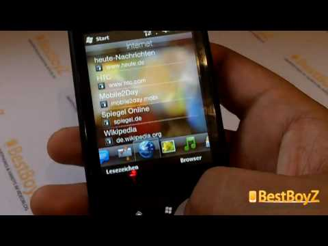 (HD) Review / Vorstellung: HTC Touch2 | BestBoyZ