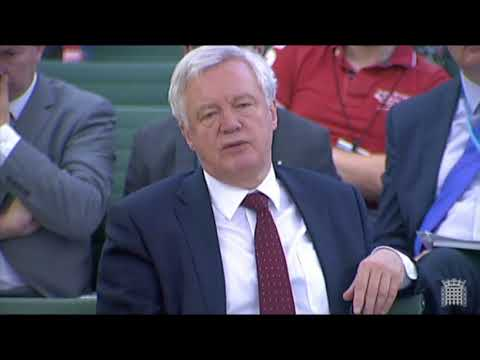 David Davis explains why the Government will not extend our membership of the EU until 2021