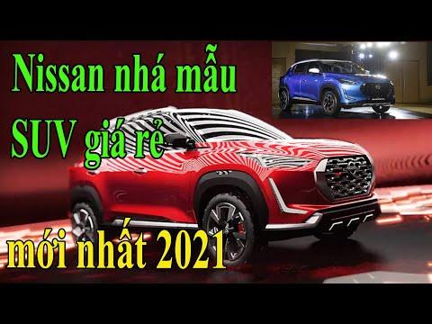 Nissan nhá mẫu SUV SIÊU RẺ mới nhất 2021