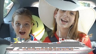 CARIBBEAN CRUISE TRAVEL DIARY | 1ST THE ROAD TRIP