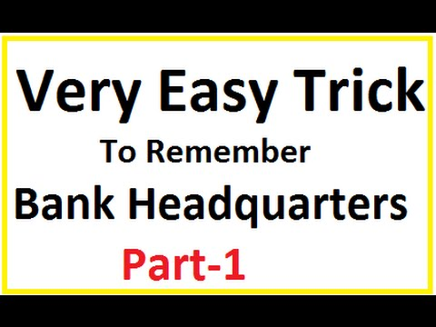 "Very Easy Trick of ""Bank Headquarters""  