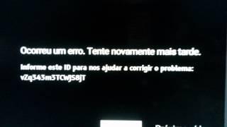 Erro tv Sony Bravia 2
