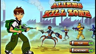 Hướng dẫn chơi game Ben 10 vs Alien - Game Vui
