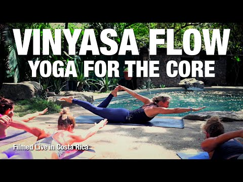 Yoga Class for your Core Strength (live in Costa Rica) - Five Parks Yoga