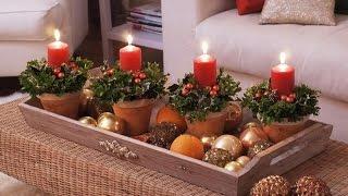 Новогоднее украшение и декор внутри дома