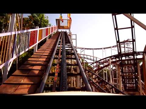 roller coaster ride @ essel world