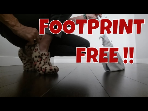 HOW TO PREVENT FOOTPRINTS on LAMINATE flooring🌻