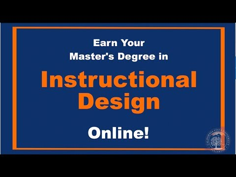 Earn Your Masters Degree In Instructional Design Technology At Cal State Fullerton Youtube