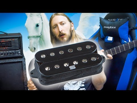 Seymour Duncan DUALITY pickups for Metal & Horseriding