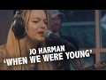 Jo Harman - 'When We Were Young' live @ Ekdom In De Ochtend