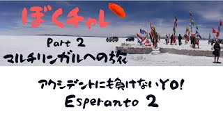 【ぼくチャレ Part 2】DuolingoでEsperantoレッスン続けるよ~!「¡Adiós!」をEsperantoで言えるか?!