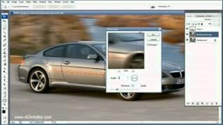 Фотошоп урок CS3 - Эффект движения автомобиля на ф....mp4