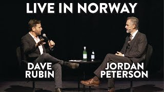Jordan Peterson and Dave Rubin LIVE IN NORWAY