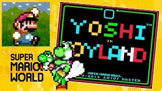 Yoshi in Toyland • Super Mario World ROM Hack (SNES/Super Nintendo)