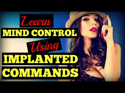 How To Control A Woman's Mind Using ⛅ Implanted Commands ⛅